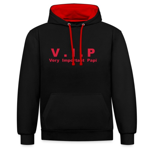 Vip - Very Important Papi - Papy - Sweat-shirt contraste