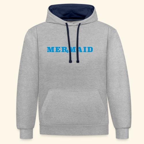 Mermaid logo - Kontrastluvtröja