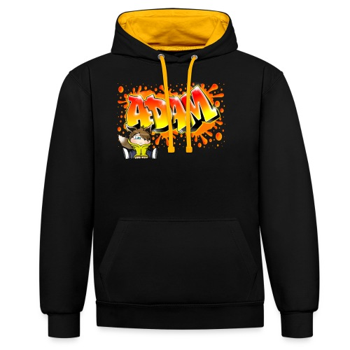 Graffiti Adam Splash - Sweat-shirt contraste