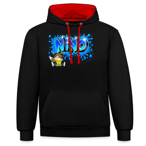 nino Graffiti name printable free - Sweat-shirt contraste
