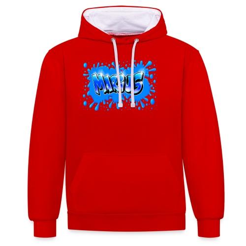 Graffiti Marius Splash - Sweat-shirt contraste