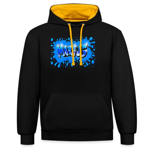 Graffiti Marius Splash - Sweat-shirt contraste