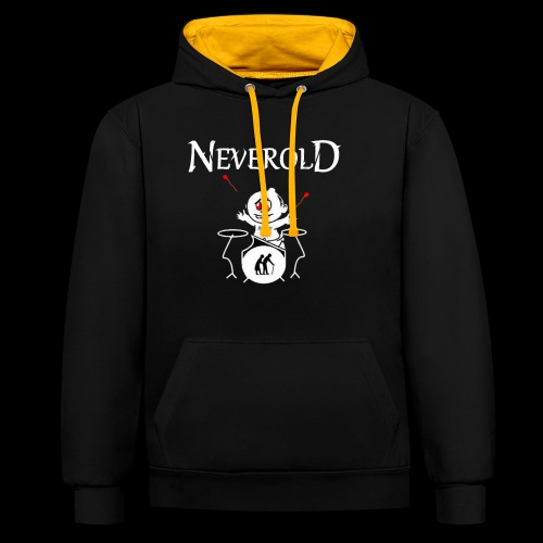 LOGO NEVEROLD - Sweat-shirt contraste