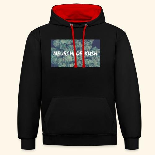 NEURCHI DE KUSH - Sweat-shirt contraste