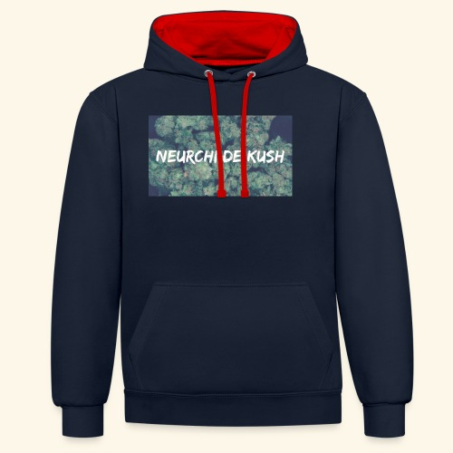NEURCHI DE KUSH - Sweat-shirt contraste