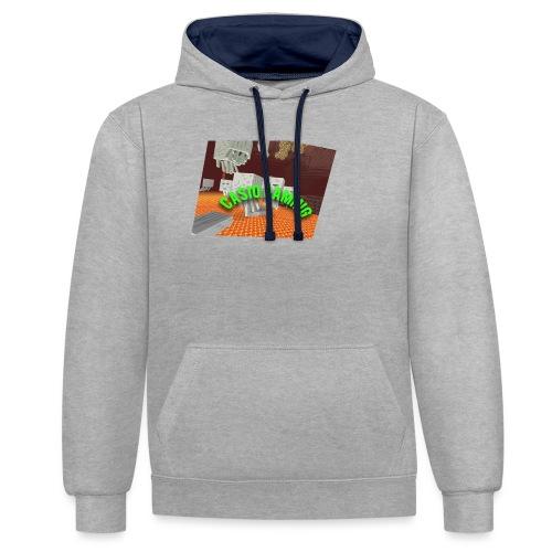 Logopit 1513697297360 - Contrast hoodie