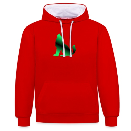 Howler - Contrast Colour Hoodie