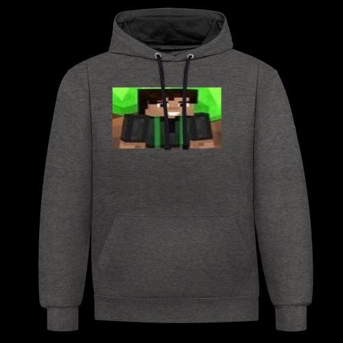 EnZ PlayZ Profile Pic - Contrast Colour Hoodie