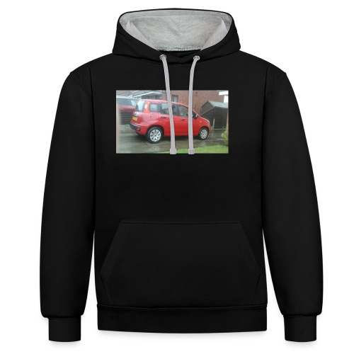 AWESOME MOVIES MARCH 1 - Contrast Colour Hoodie