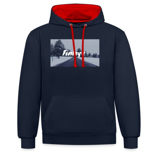 Finleyy - Contrast Colour Hoodie