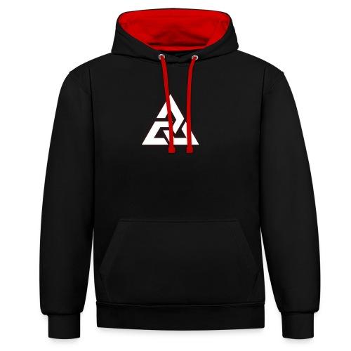 Großes Logo [JxsyFX] - Kontrast-Hoodie