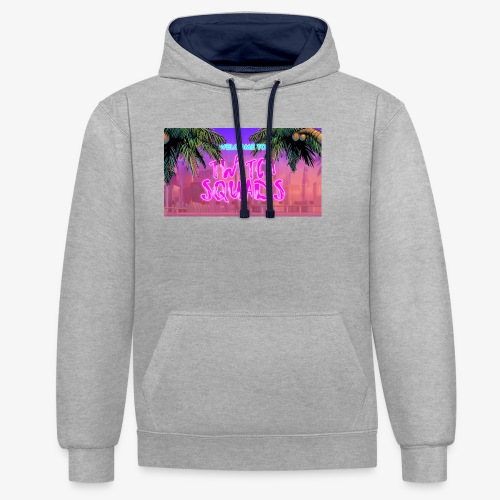 Welcome To Twitch Squads - Contrast Colour Hoodie