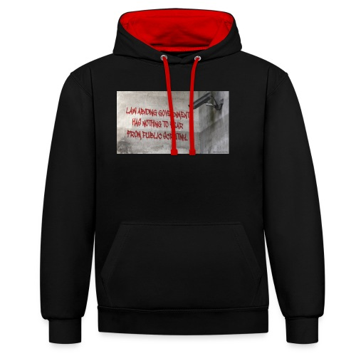 Nothing to Fear - Contrast Colour Hoodie
