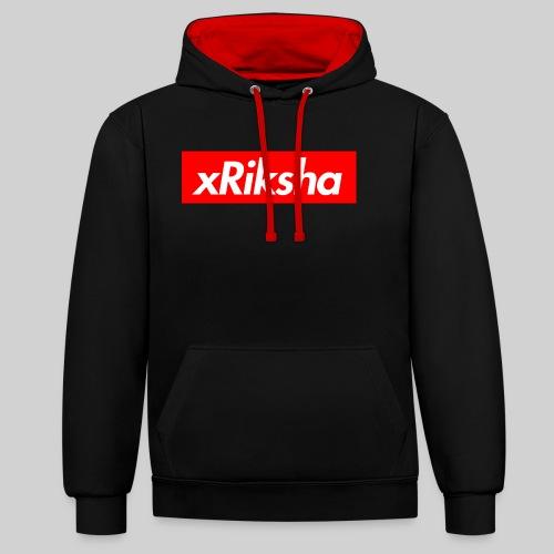 xRiksha - Box logo - Kontrastihuppari