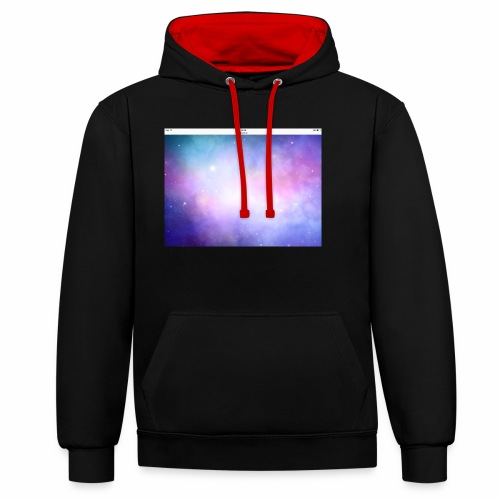IMG 1395 - Contrast Colour Hoodie
