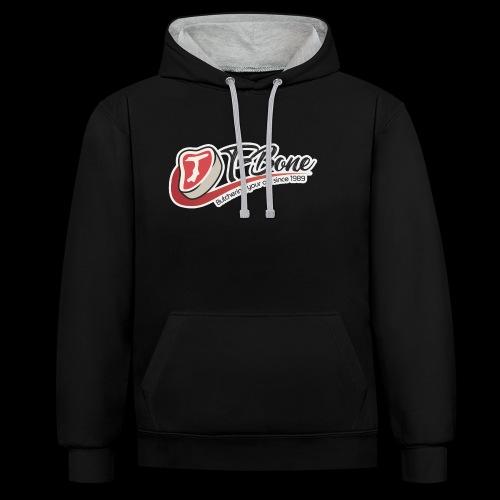 ulfTBone - Contrast hoodie