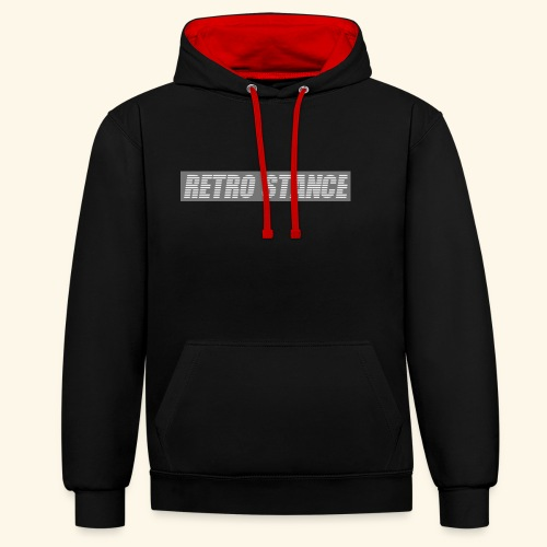 Retro Stance - Contrast Colour Hoodie