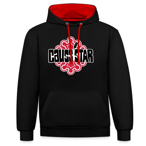 Causs'star - Sweat-shirt contraste