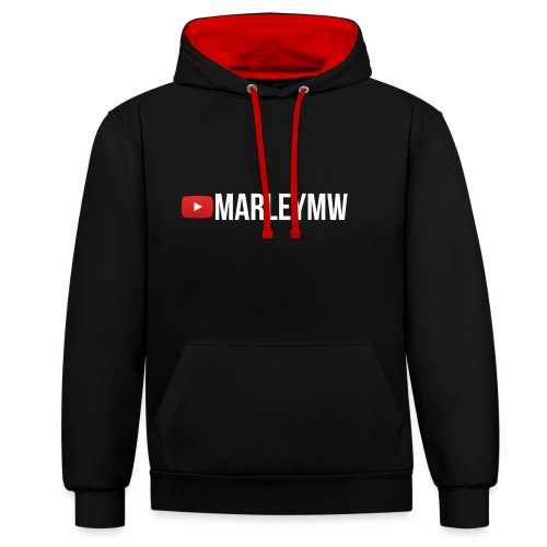 MarleyMW Name Merch - Contrast Colour Hoodie
