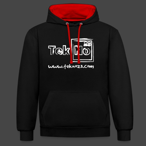 tekno23 - Sweat-shirt contraste