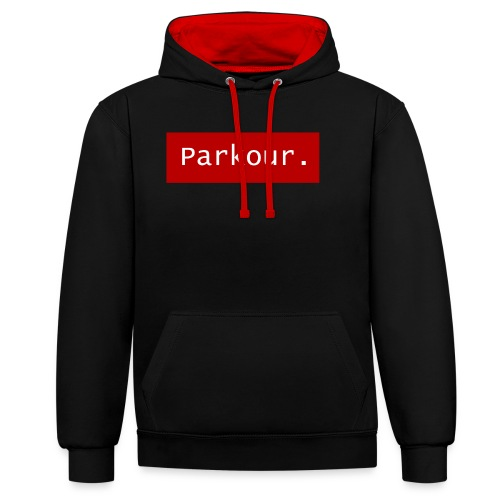 Parkour. - Contrast hoodie