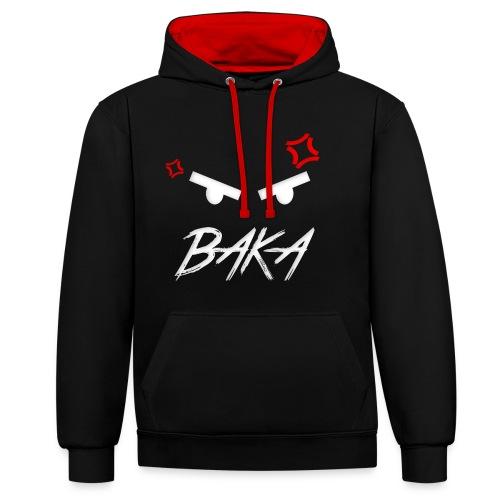 Baka - Kontrast-Hoodie