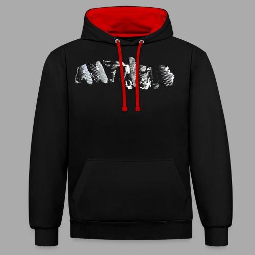 ANTIHELD - Kontrast-Hoodie