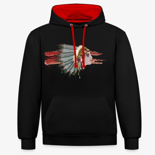 Native american - Sweat-shirt contraste