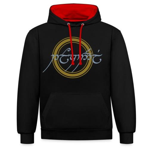 Tolkiendil Cercle 2 - Sweat-shirt contraste