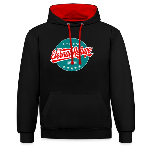 The Eternal Refuge - Contrast Colour Hoodie