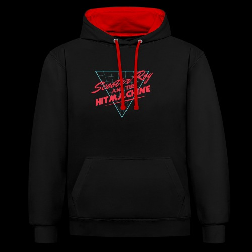 ScooterRoy and the Hitmachine - Contrast hoodie