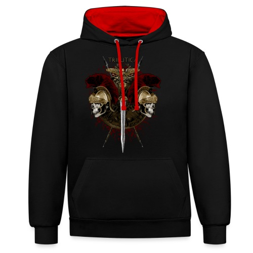 Legion of Death by TRIBUTICA® - Kontrast-Hoodie
