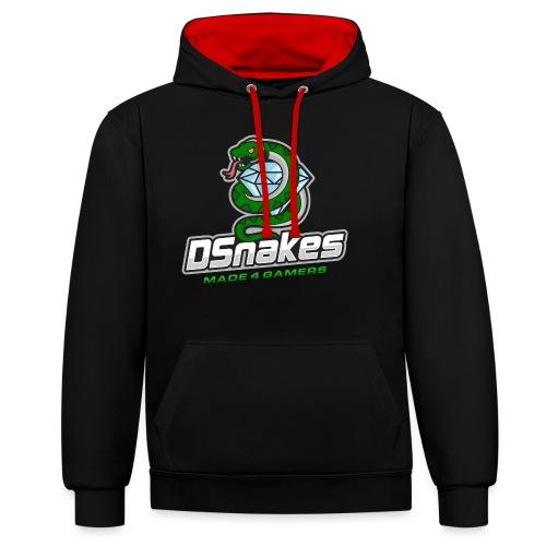 Dsnakes Merch - Contrast hoodie