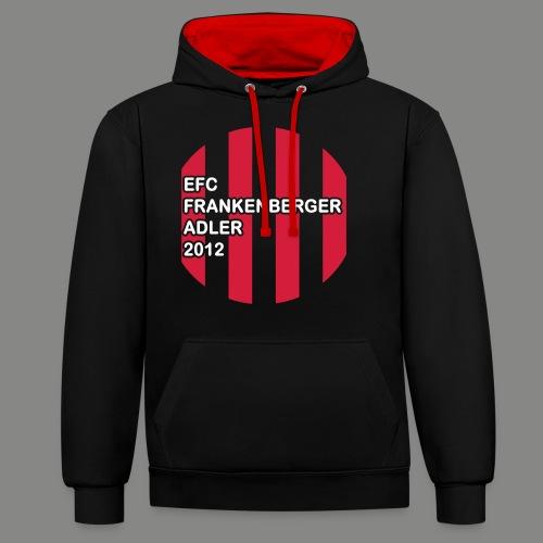 EFC Trikot-Style - Kontrast-Hoodie