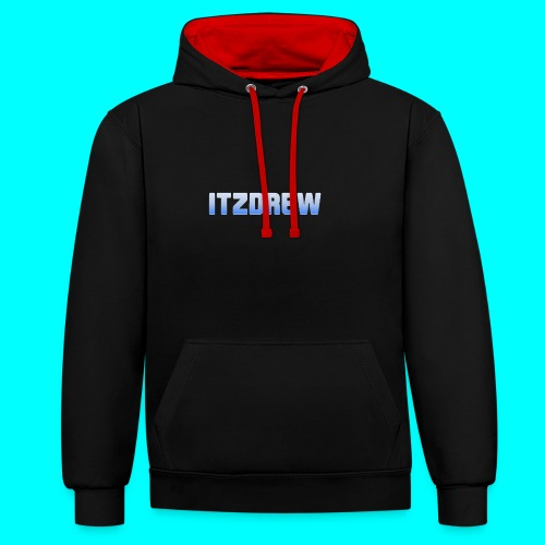 ITZDREW MERCH - Contrast Colour Hoodie