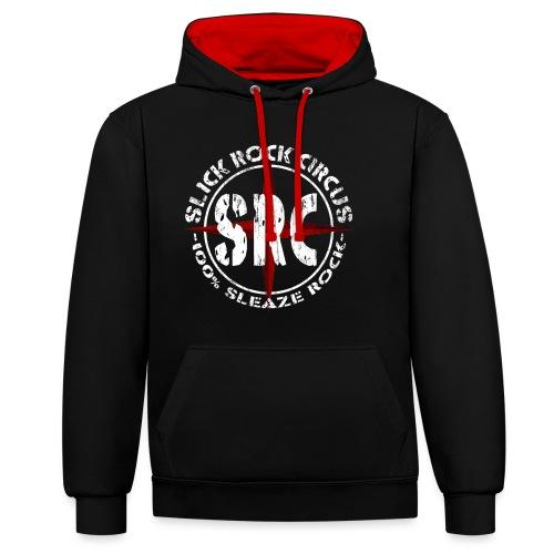 SRC Logo Vintage Round - Kontrast-Hoodie
