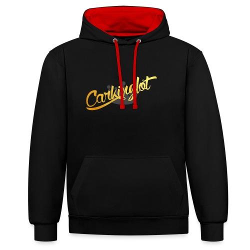 Carkinglot schoon - Contrast hoodie
