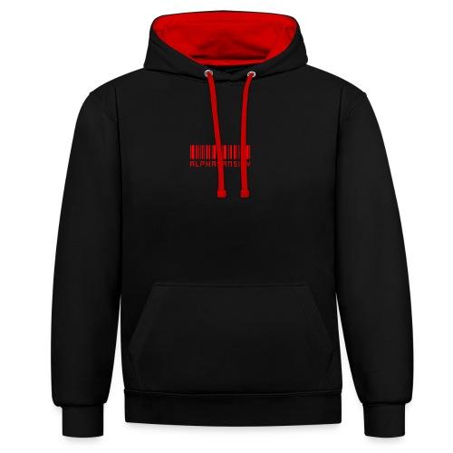 BASS X ALPHASANSITY - Contrast hoodie