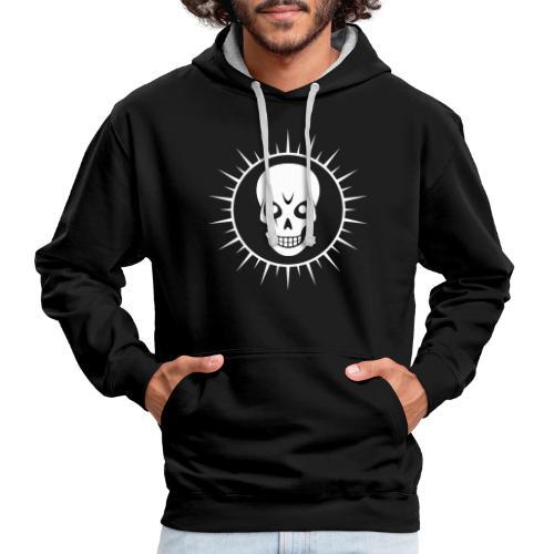 Skull - Contrast Colour Hoodie