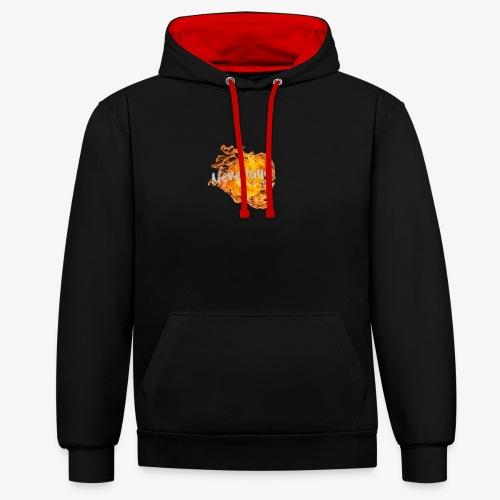 NeverLand Fire - Contrast hoodie