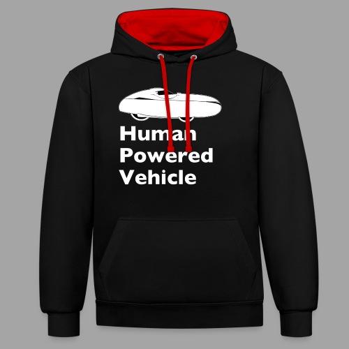 Quest Human Powered Vehicle 2 white - Kontrastihuppari