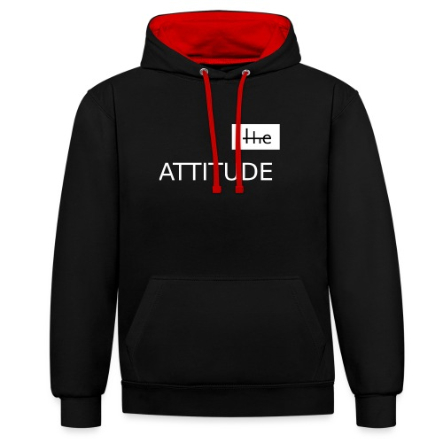 The Attitude - Style - Kontrast-Hoodie