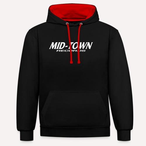 Midtown - Contrast Colour Hoodie