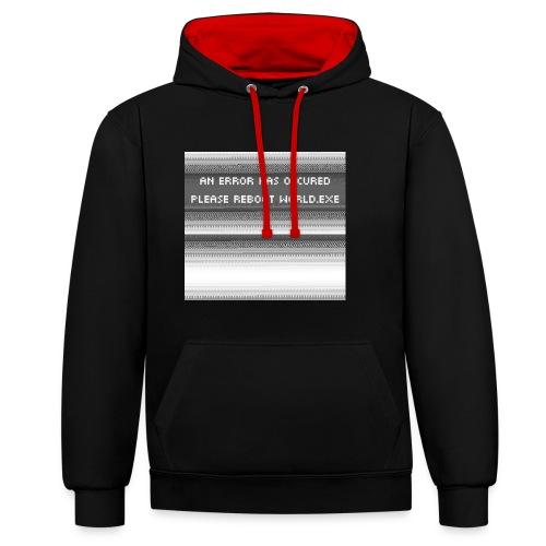 error - Contrast hoodie