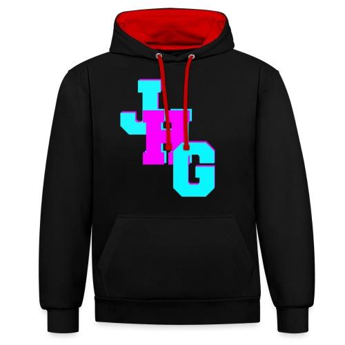 JHG Logo Merch - Contrast hoodie