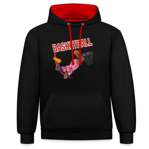 Basketball - Sweat-shirt contraste