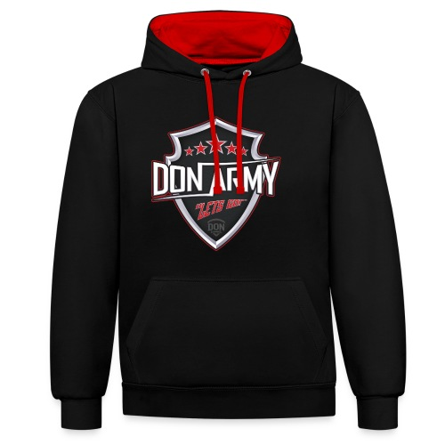 Women's DoN Army Hoodies - Contrast Colour Hoodie