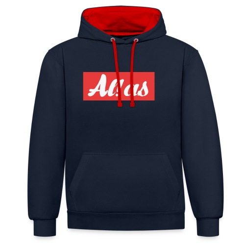 Al!as - Kontrast-hættetrøje
