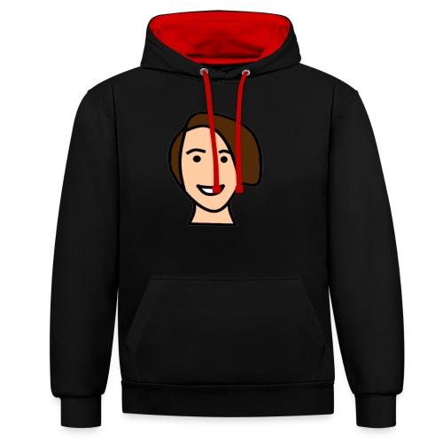 Harunnie-standaard-hoodie - Sweat-shirt contraste