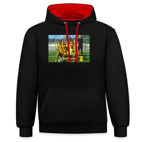 oude koedijk - Contrast hoodie